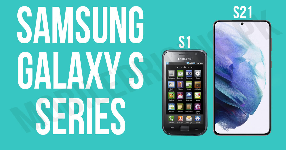 Samsung Galaxy s series overview